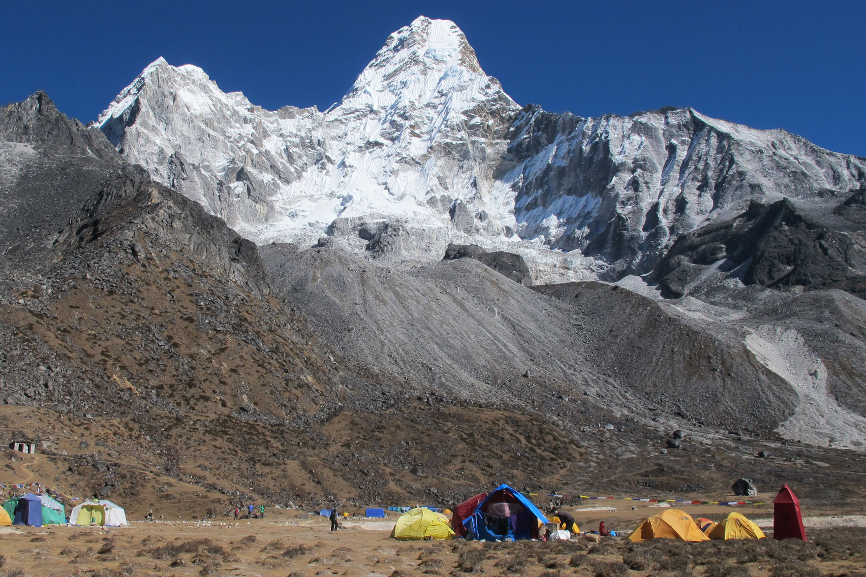 Day 9: Trek from Pangboche (4000m) to Khumjung (7hrs, 3790m)