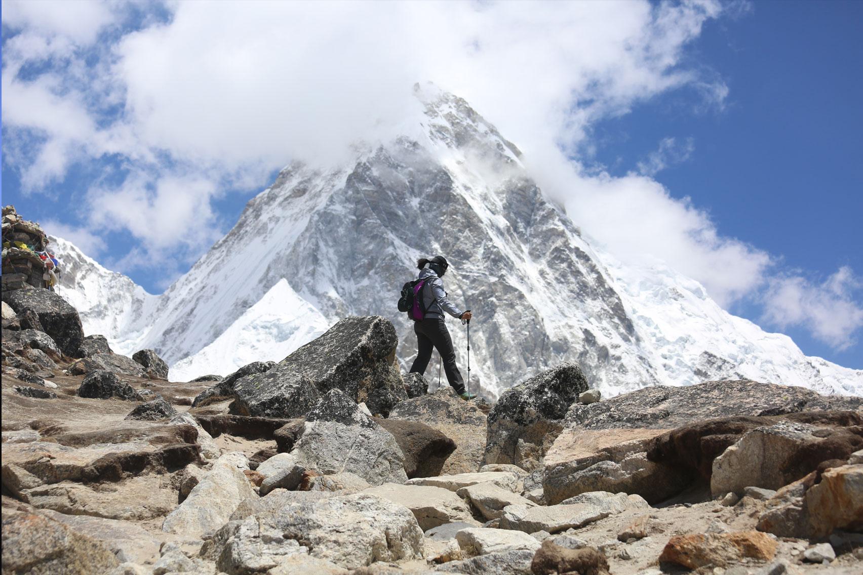 Day 12: Trek from Lobuche (4980m) to Phortse (7hrs, 3950m)