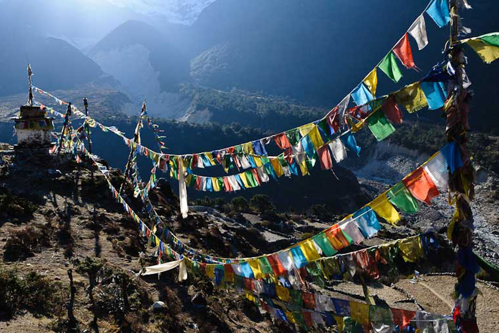 Day 7: Trek from Phortse (3800m) to Pangboche (3hrs, 4000m)