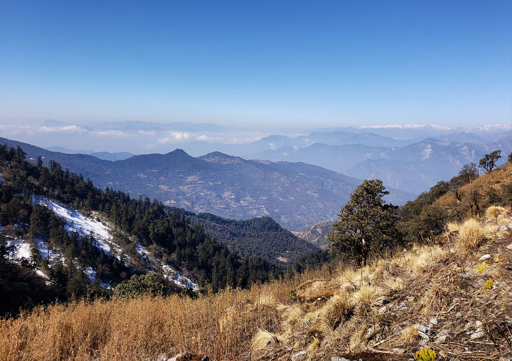 Day 6: Dobato (3400m) to Chistibung/Dankharka (6 hrs, 3000m)